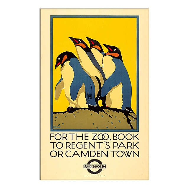 BuyLondon Transport Museum - For The Zoo Print, 30 x 40cm Online at johnlewis.com