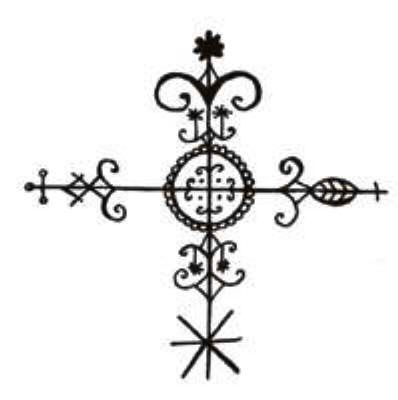 Vodou veve   Symbols and Meanings   Voodoo tattoo, Voodoo