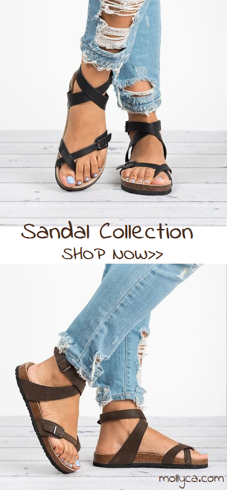 86f03f16e94 Ankle Strap Buckle Flip Flop Gladiator Thong Flat Sandals ...