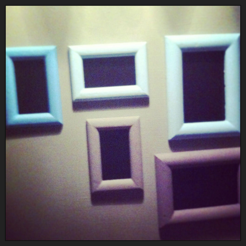 Blackboard paint frames | Blackboard Paint Ideas | Pinterest ...