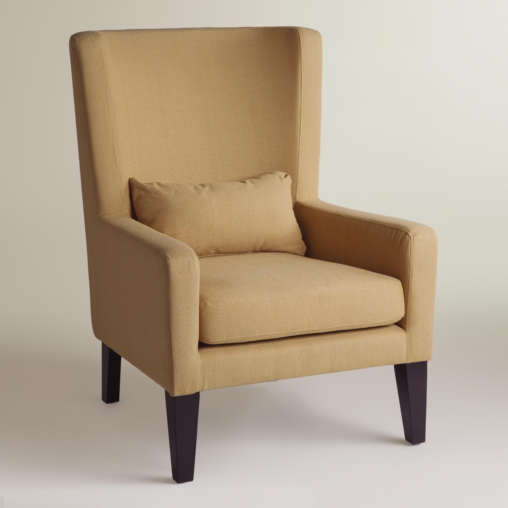 wheat beige triton high back chair  high back chairs