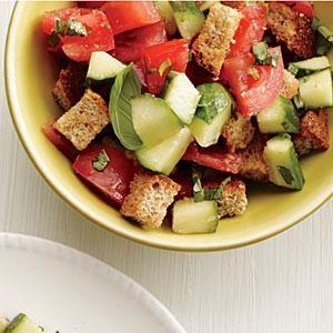 Tomato-Basil Bread Salad Recipe | MyRecipes.com