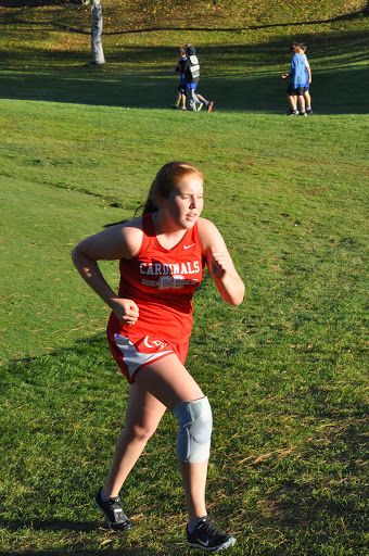 Coon Rapids Girls Cross Country 2014 - Conference - Elk River 20141008 - Hannah Hirt