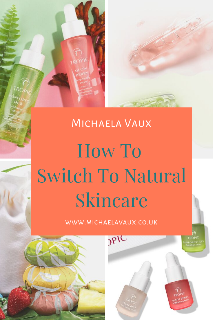 What Difference Does It Really Make To Switch To A Natural Skincare Range Naturalskincare Tropic Tropicskincare Naturalingre Natural Skin Care Skin Care Tropical