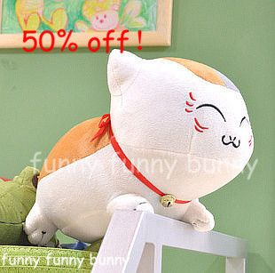 Lucky Cat Plush Toy Stuffed animals Doll Toys Soft Kids Birthday Gift home hot