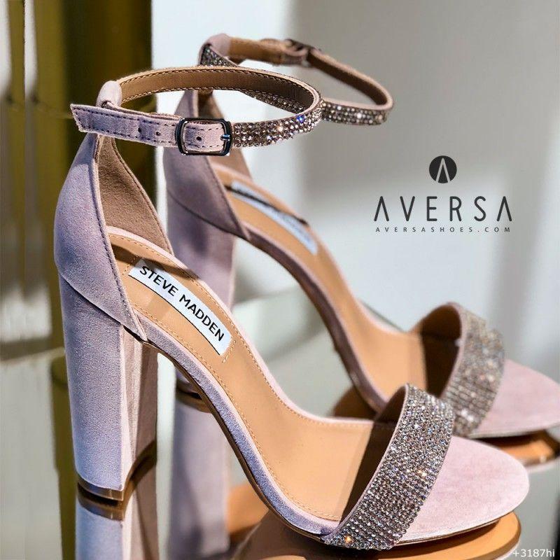 Sandalo con tacco Steve Madden Carrson con strass Aversa