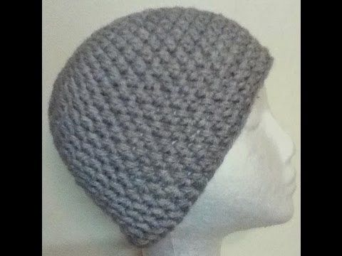 Crochet a Basic Beanie Tutorial - Half Double Crochet - Preemie to ...