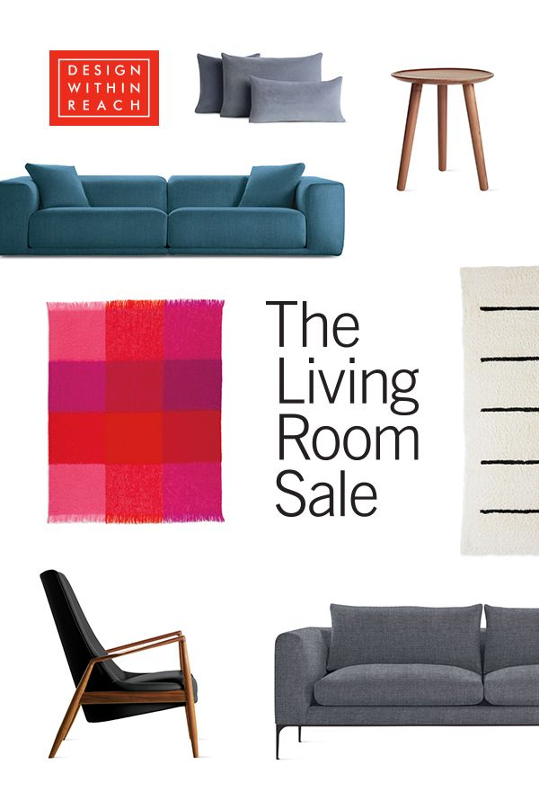 Living Room Sale at Design Within Reach: Save 15% on select sofas ...