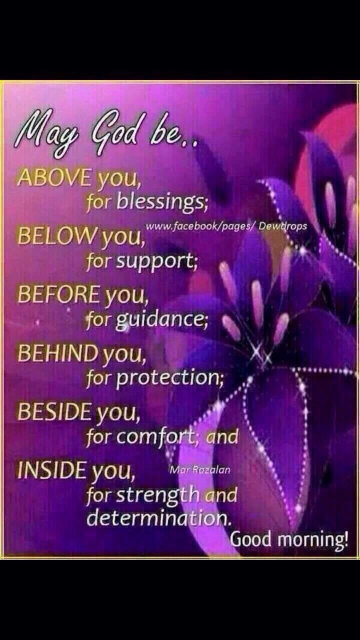 Good Morning Spiritual Quotes Good Morning May God Be Above You For Blessings  Spiritual Quotes