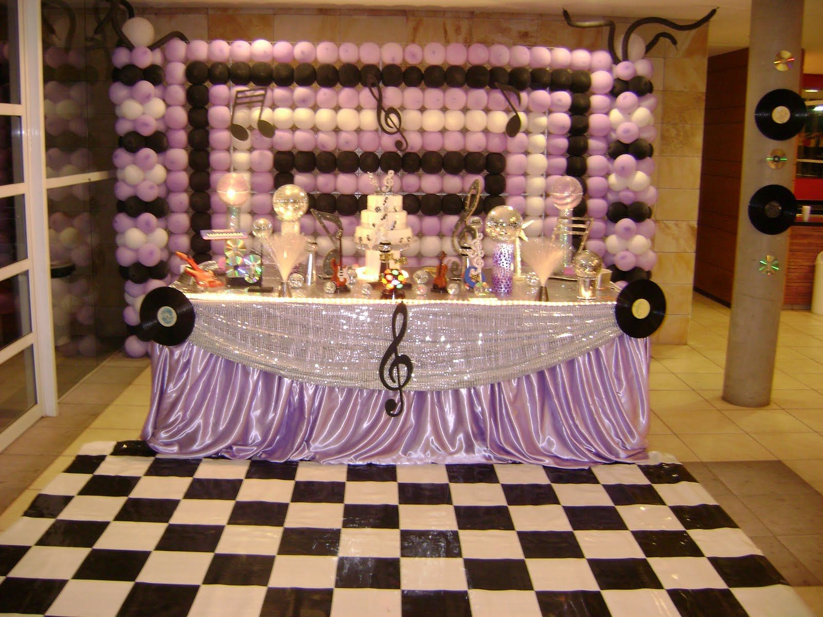 Delightful Music Themed Party Decorations Ideas Part - 8: Image Detail For -Theme Music Kids Party Decorating