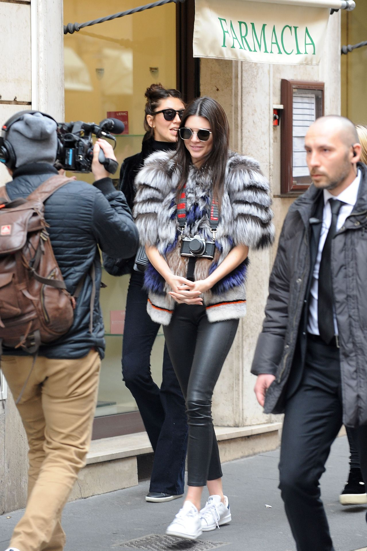 Kendall out in Rome