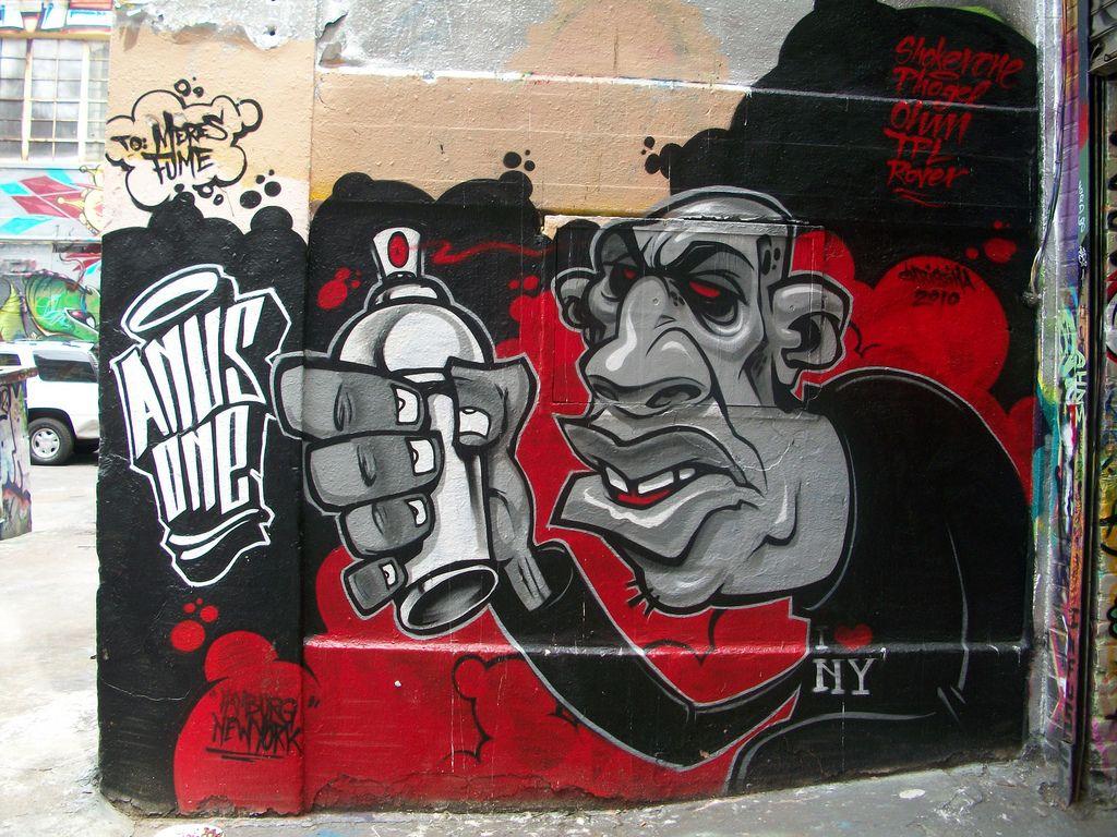Anus one - Queens Graffiti NY