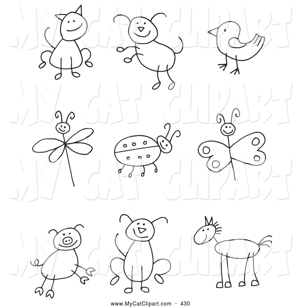 Free family stick figures coloring pages   Drawing for ...