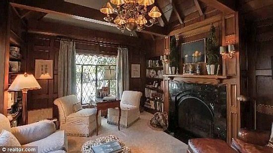 English Tudor Interior Design   The nearly untouched Great Room is ...