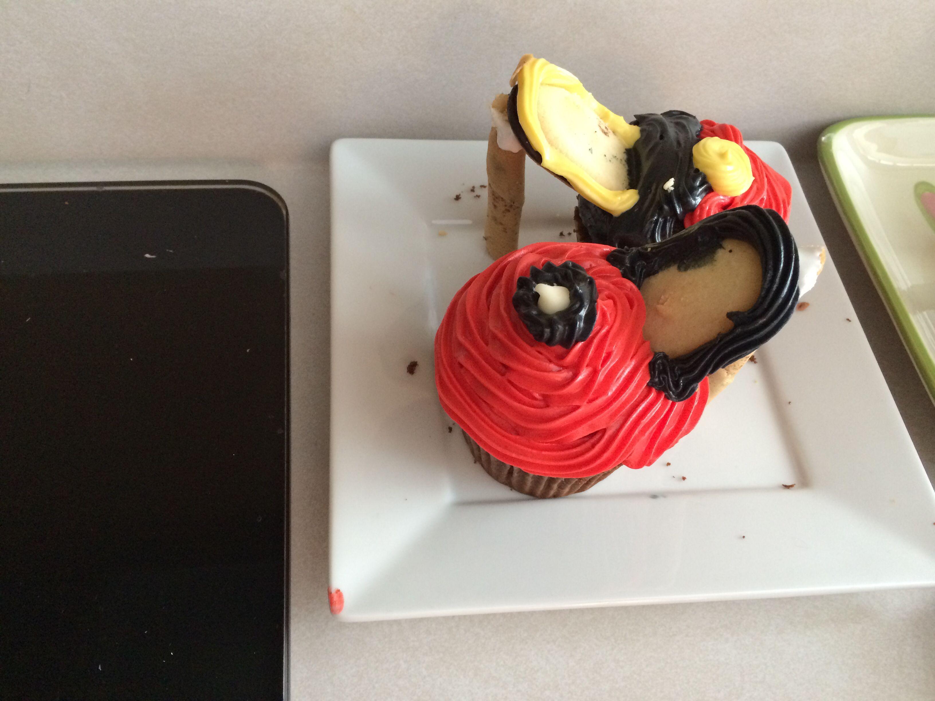 Sweete Stilettos birthday cupcakes