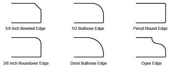 Image Result For Bullnose Or Bevel Edge For Laminate Countertop Countertops Laminate Countertops Granite Edges
