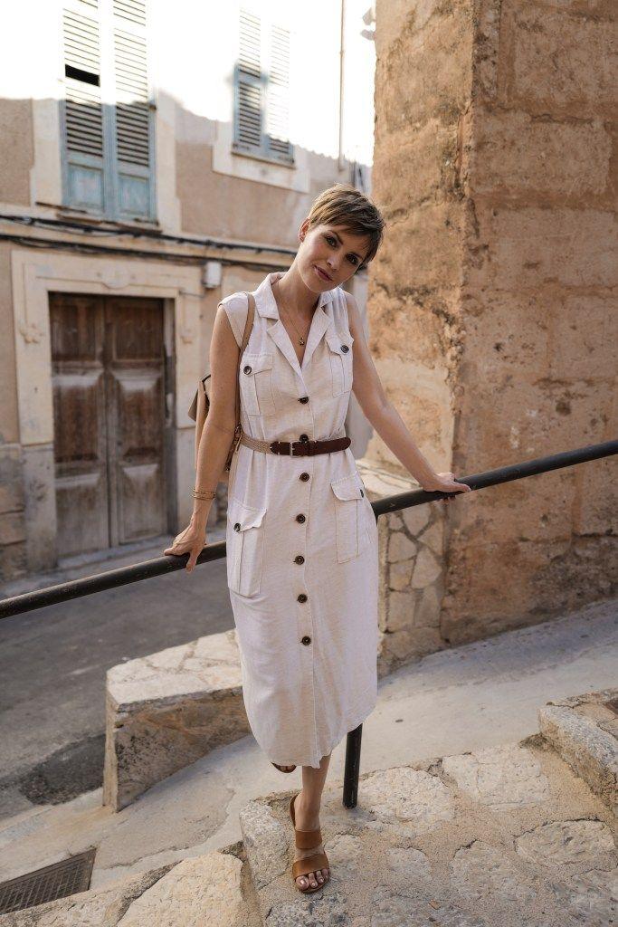 Sommer Trend für 2019: Leinen-Kleider und Leinen-Blusen ...