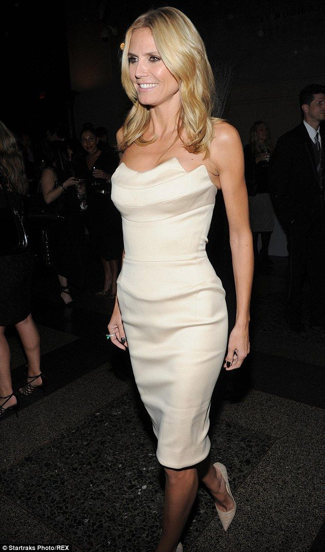 Honours: The K.I.D.S./Fashion Delivers charity honoured Heidi Klum at its annual gala in N...