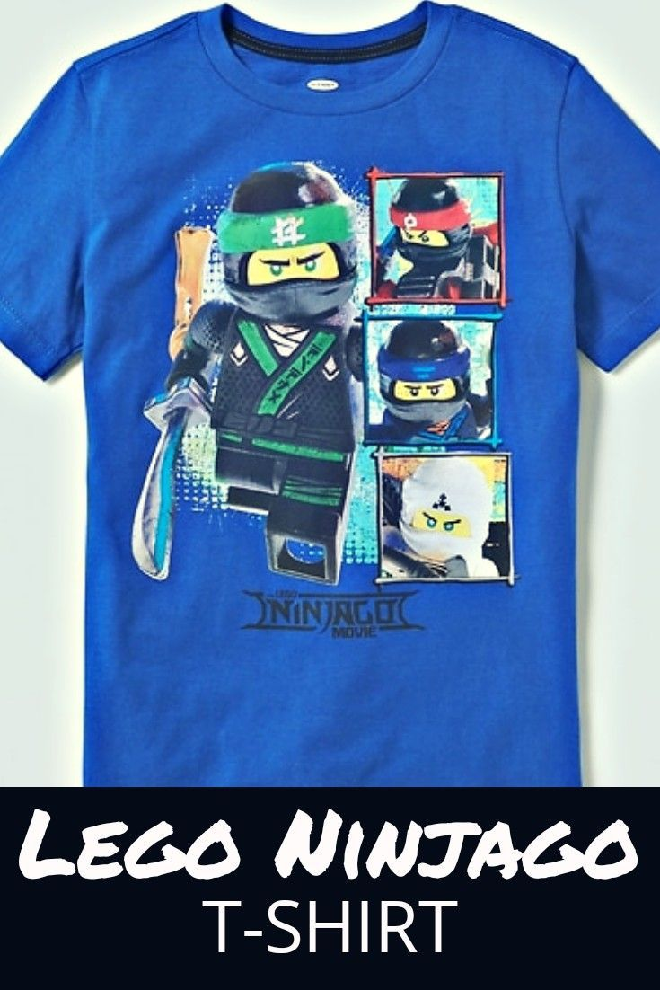 your ninjago lover will love this lego ninjago tshirt
