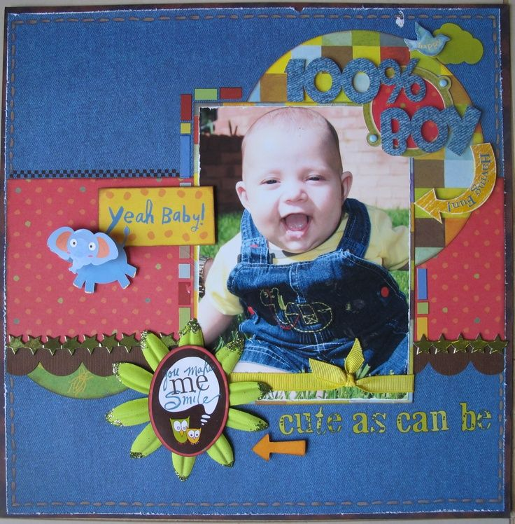 Scrapbooking Pages With Cars For Boys Visit Scrapbook Com