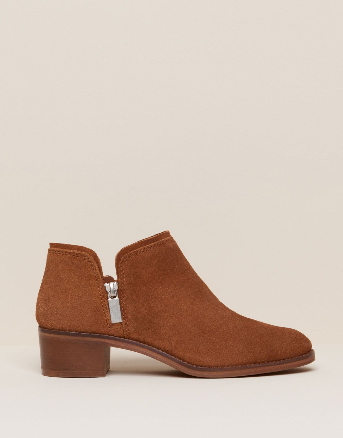 Casual Split Suede Ankle Boots New Products New Products Pull Bear Turkey Stiefel Schuh Stiefel Stiefeletten Damen