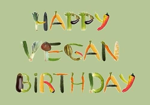 Marions Bastelstubchen Vegetarische Geburtstagsgrusse