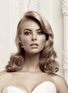 40's glam hair - google
