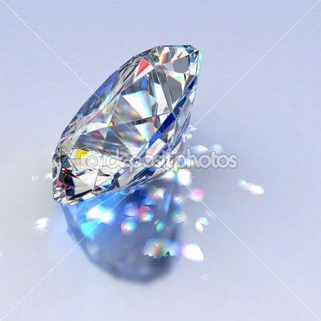 钻石珠宝与思考 — 图库图片 #1788732