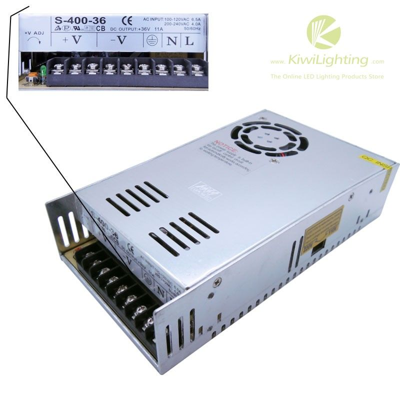 Dc 36v 11a Power Supply Input Ac 100v 240v With Images Led Lights Power Supply Power