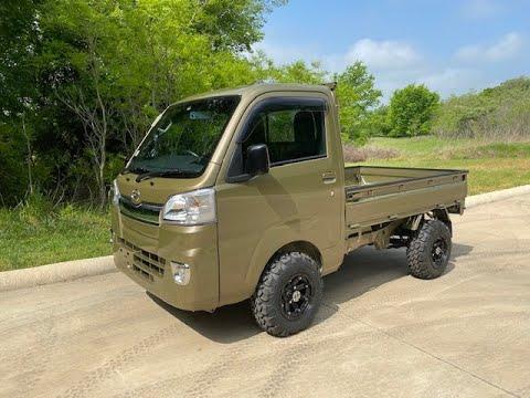 Daihatsu Hijet Auto Transmission 4x4 Japanese Mini Trucks Youtube In 2021 Mini Trucks Mini Trucks 4x4 Trucks