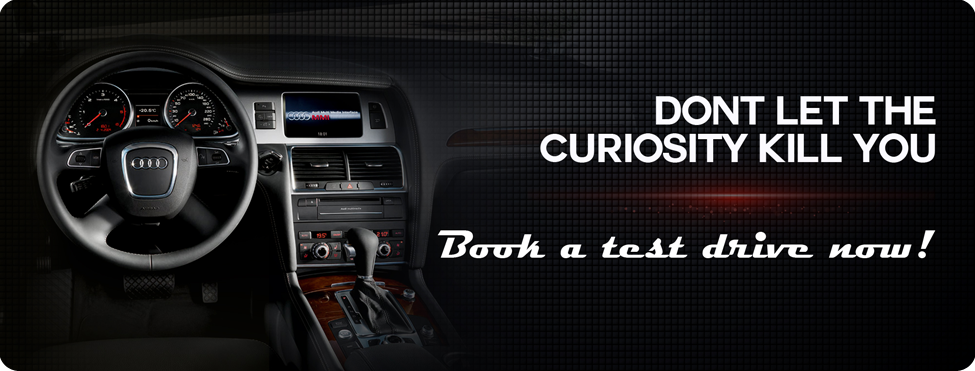 Book a test drive now and Audi Gurgaon offers this service for all Audi vehicles.