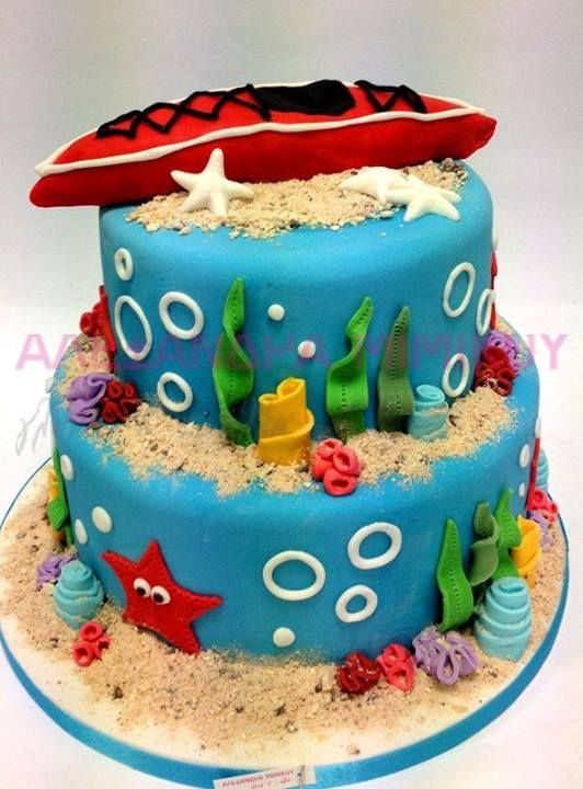 Sea Life Cake With Images Special Cake Cake Cake Decorating
