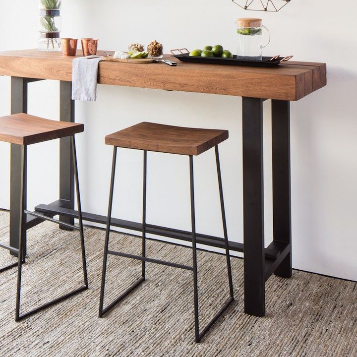 Perfect For Brunch Or 5 O Clock Cocktails The Bar Table Is A Stylish Compact Dining Solution For Small Dining Table Design Bar Dining Table Dining Room Design