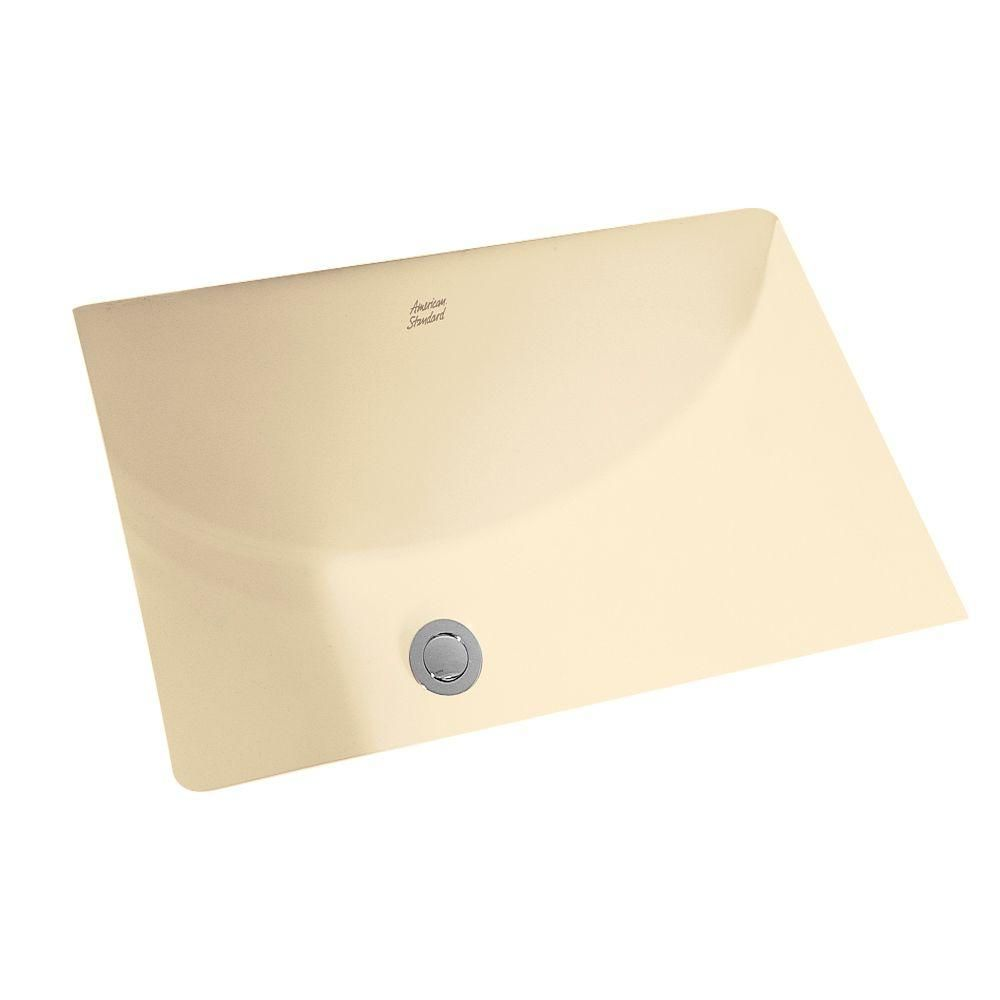 American Standard Studio Rectangular Undermount Bathroom Sink In