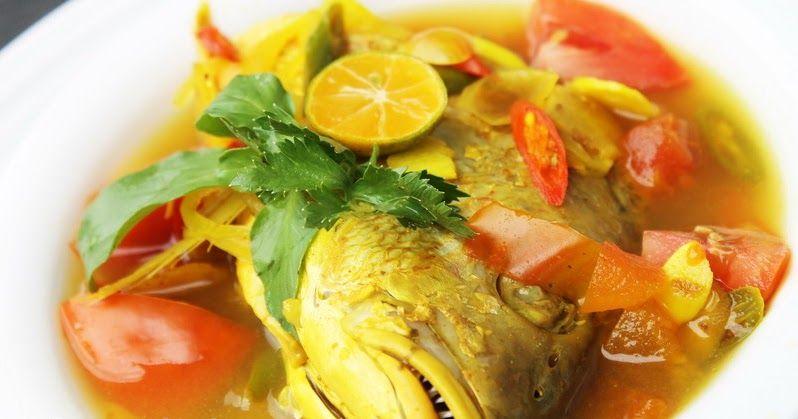 Resep Memasak Ikan Kuah Kuning Adalah Masakan Khas Daerah Maluku Yang Dimana Maluku Memang Terkenal Dengan Masakan Yang Be Resep Ikan Resep Masakan Sup Ikan
