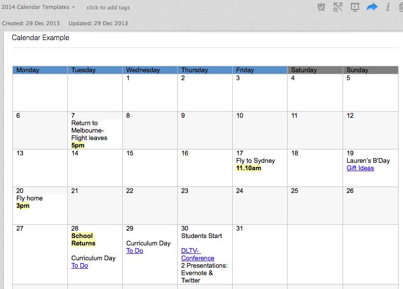 Calendar templates for evernote computer pinte calendar templates for evernote more maxwellsz