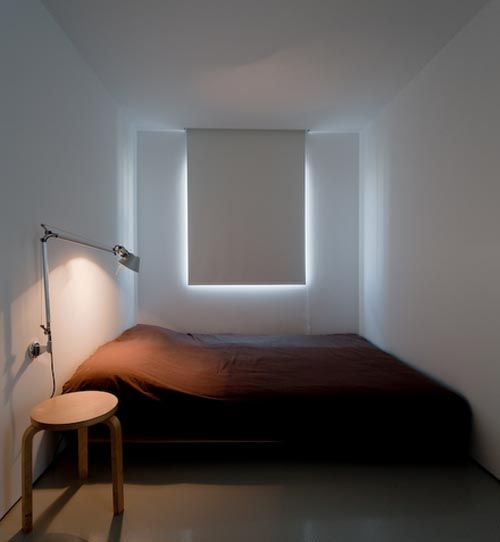 small bedroom minimalist lighting