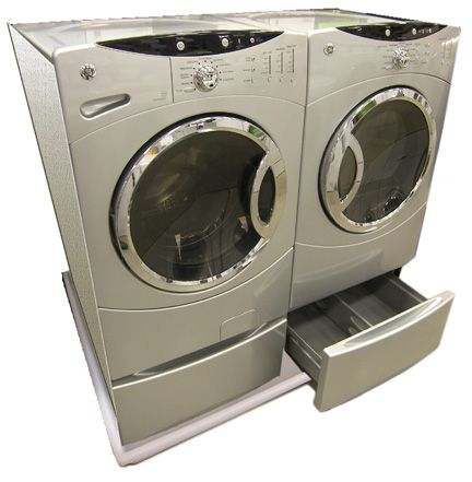 DRIPTITEs combo washer and dryer pan allows the washer and dryer to