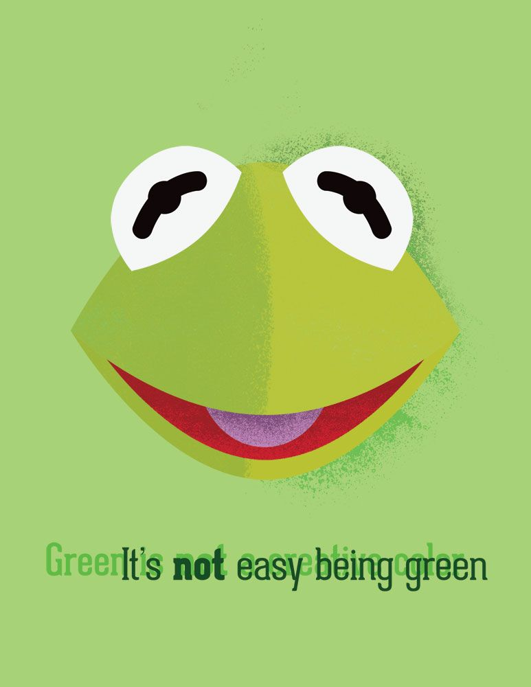 Its not easy dating green