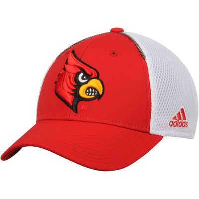 1e524378361 ... inexpensive mens adidas red white louisville cardinals spring game  structured climalite adjustable hat d3c9e 4ce85