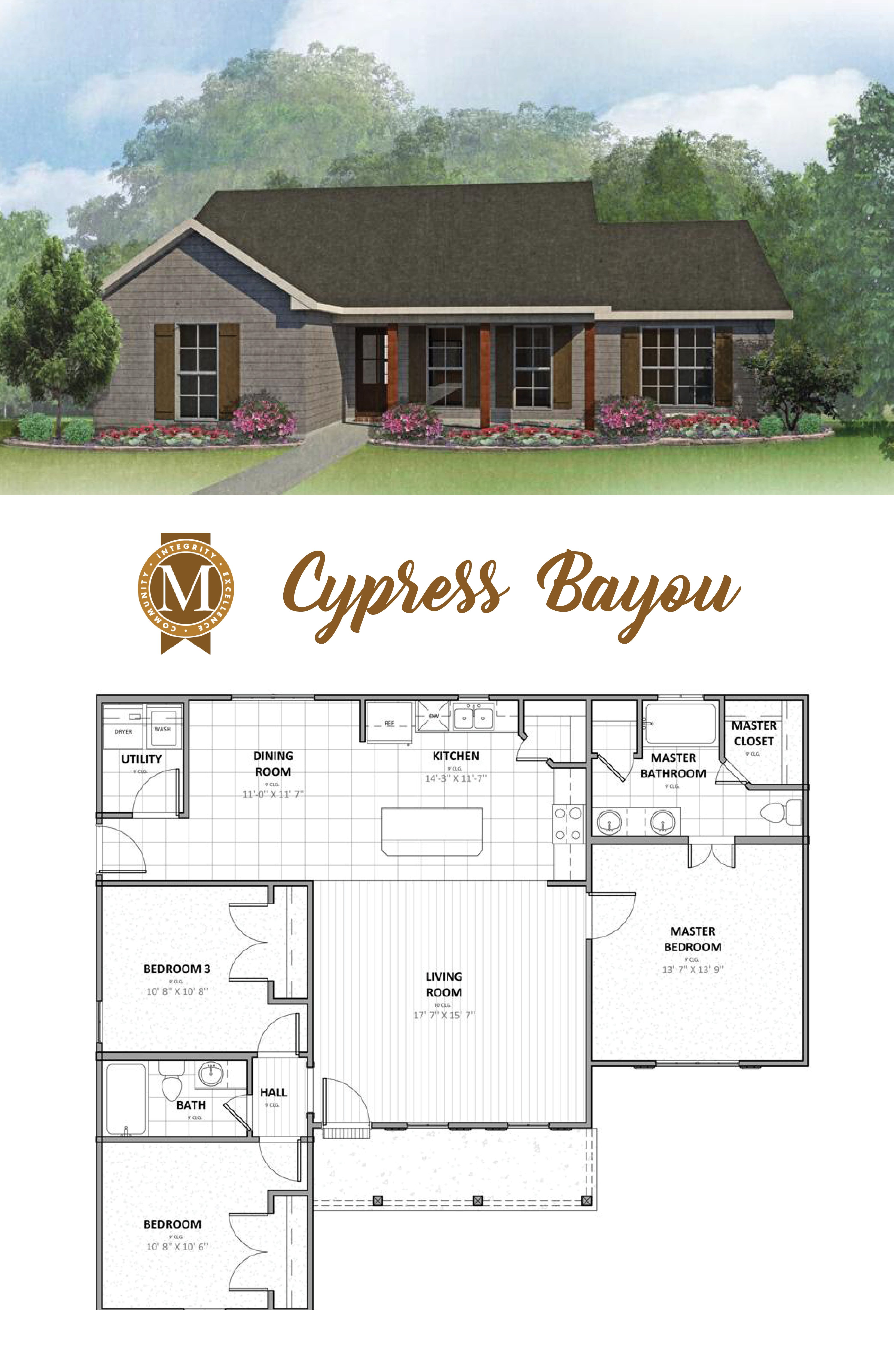 Living Sq Ft 1 400 Bedrooms 3 Baths 2 Lafayette Lake Charles Baton Rouge Louisiana New House Plans House Plans House Layouts