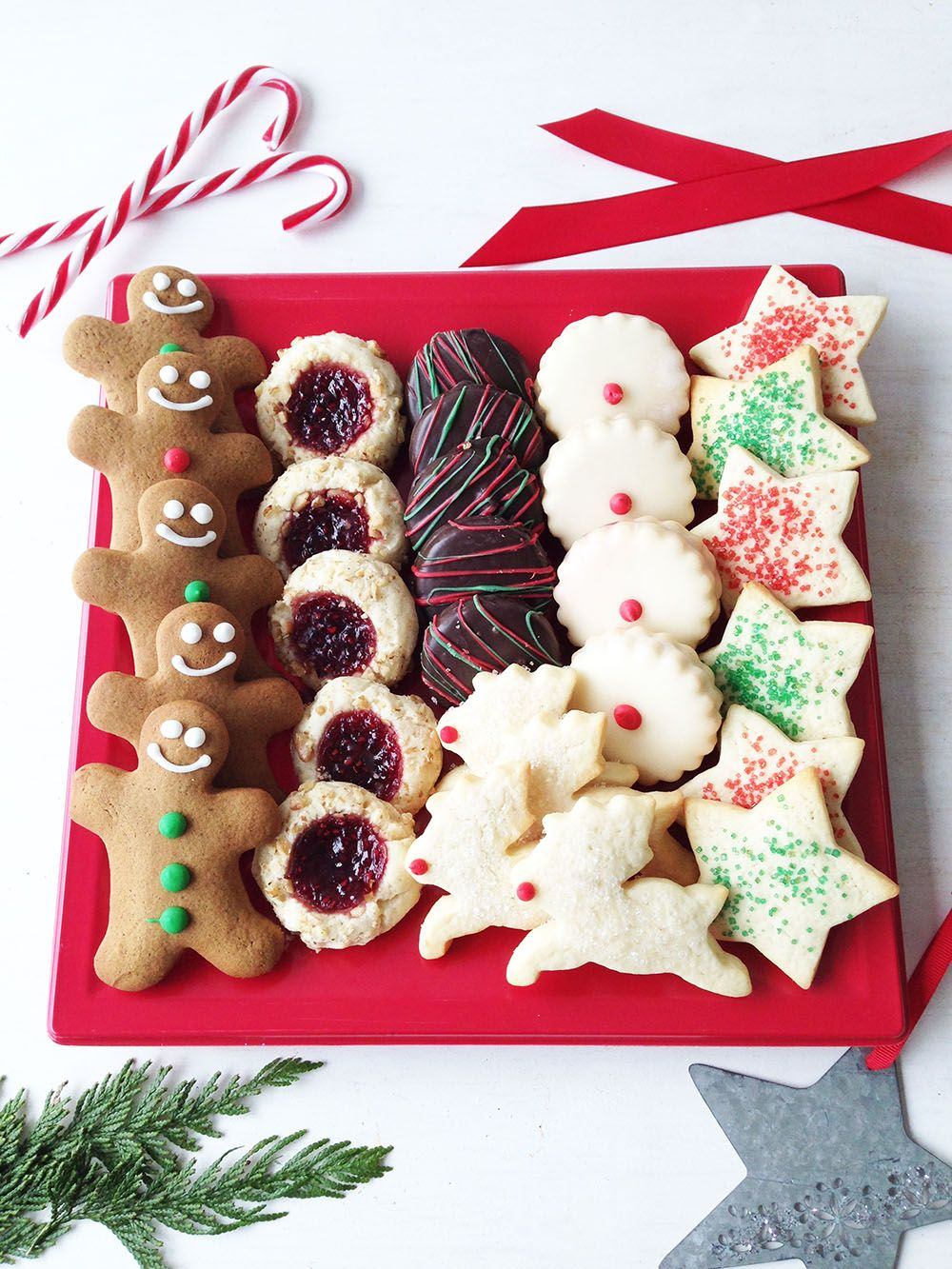 Christmas Platters For Sale.When There S No Time To Bake Christmas Cookie Platter