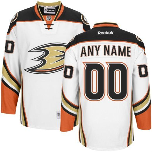 Anaheim Ducks NHL 2014 Premier Hockey Jersey - White Color