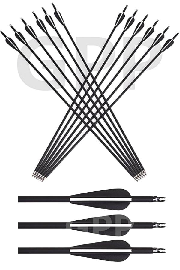 GPP Archery 30 Inch  Carbon Arrows  One of the Best target arrows