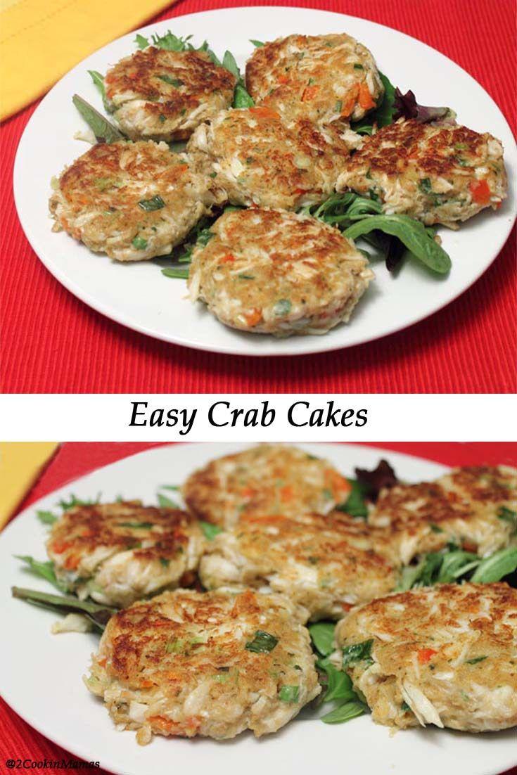 Easy crab cakes recipe crab cakes dinner food