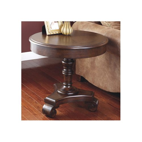 Hague End Table With Storage Rustic End Tables End Tables Round End Tables