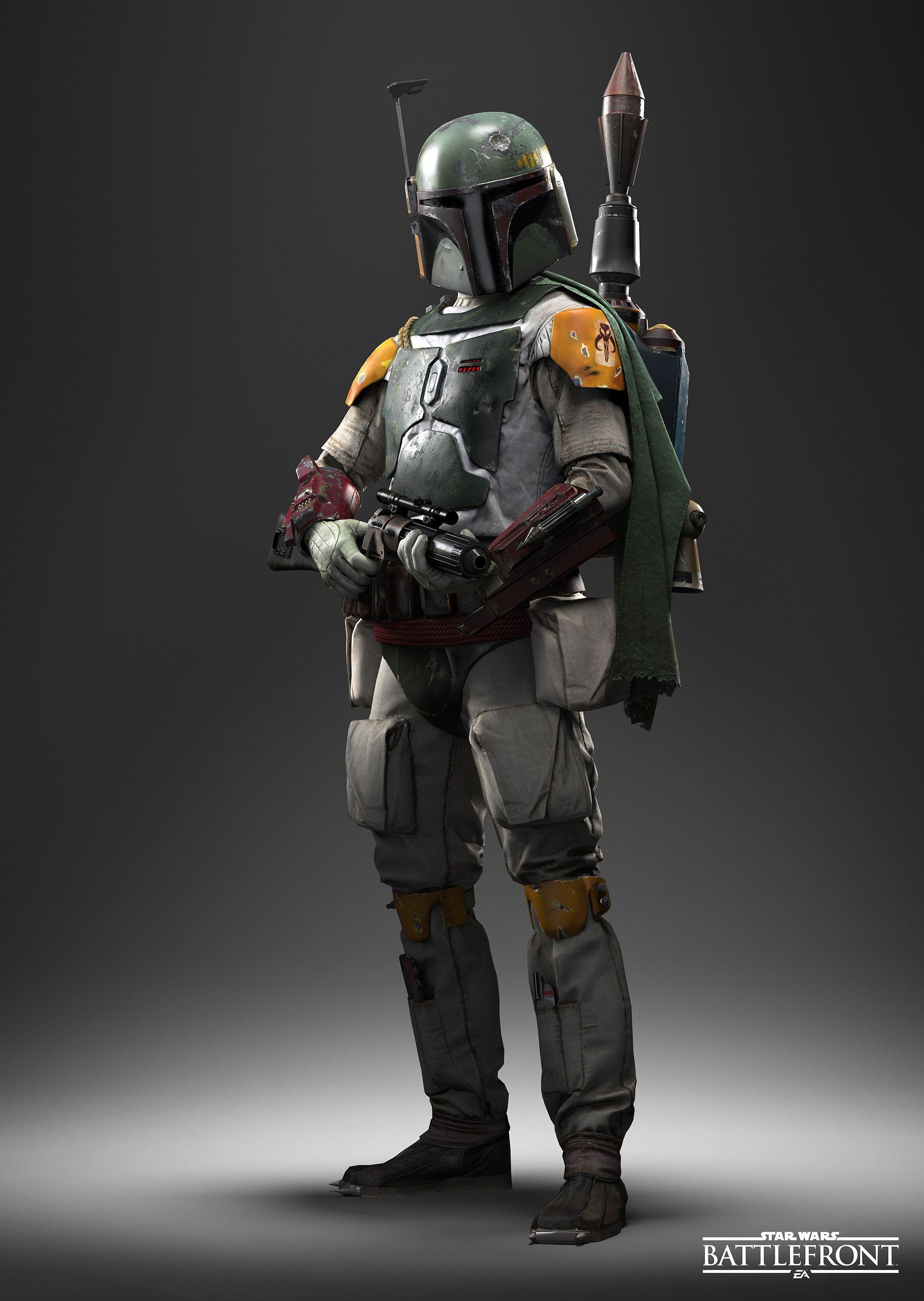Boba Fett Star Wars Boba Fett Art Star Wars Battlefront Star Wars Boba Fett