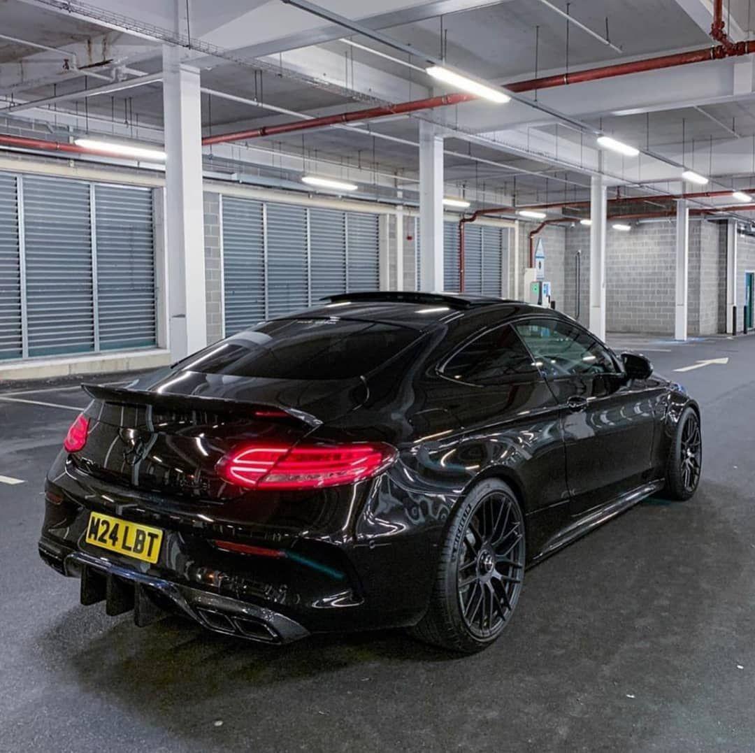 Mercedes C63s Coupe •4,0cc V8TwinTurbo 510HP🔥🔥🔥 #mbgramer