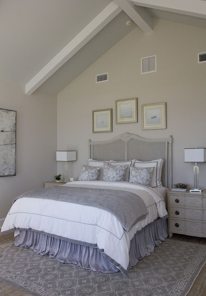 Wall Paint Color Is Benjamin Moore Light Pewter. Ceiling