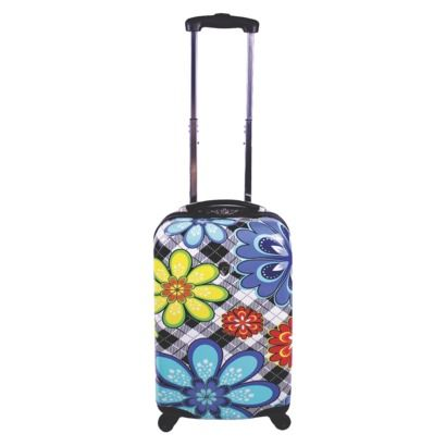 Heys Hardside Rolling Flower Print Suitcase - Medium